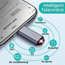 IR Universal Remote Control For TV Box Air Conditioner App Control Infrared Appliances Mini Adapter For iPhone Micro USB Type-C