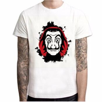 Tshirts Men Short Sleeve House of Paper T Shirt   4