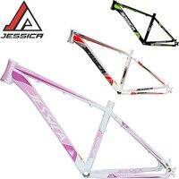 JESSICA 26er 15.5/17 inches MTB Frame Mountain Bike Frames Bicycle Aluminum alloy Superlight Straiht Tube Frameset BSA 68mm