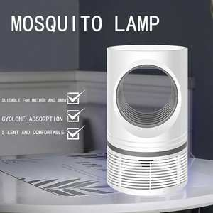 Lamp Pest-Control Bedroom Uv-Mosquito-Killer Electric Outdoor Portable for Removable-Box