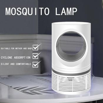 Indoor Outdoor Quiet Desktop For Bedroom Removable Box Portable Uv Mosquito Killer Lamp USB Powered Electric Pest Control