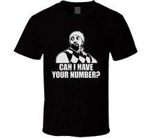 Algodão darrell eu posso ter o seu número mad tv engraçado captador t camisa