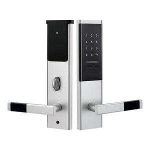 Image 3 - Cerradura electrónica de seguridad, cerradura de pantalla táctil inteligente, teclado de código Digital Deadbolt