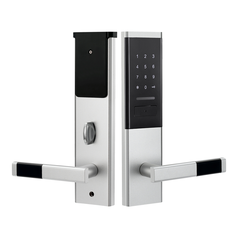 Image 3 - Security Electronic Door Lock, Smart Touch Screen Lock,Digital Code Keypad Deadbolt-in Electric Lock from Security & Protection