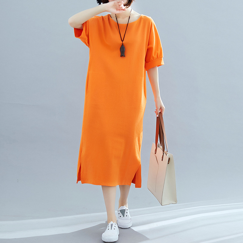 Spring And Summer Autumn Elegant New Style Dress Korean-style Of Fashion Slimming With T-shirt Spring And Summer Ji Nv Young Con