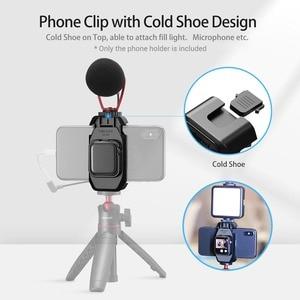 Image 2 - Braçadeira de suporte de smartphone ulanzi ST 09 com montagem de sapata fria para apple watch series 5 iphone 11/11 pro vlog selfie acessórios