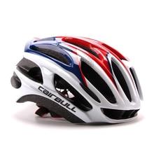купить Ultralight Cycling Helmet Bicycle MTB mountain Helmet Road city Bike racing Helmet Integrally-molded Cushion casco helmet spare онлайн