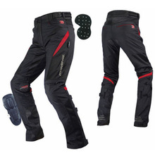 KOMINE Japanese Original Men Motocross Pants Anti-fall Kneepad Motorcycle Trousers Racing Off-Road Accessories Protective
