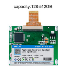 128GB 256GB 512GB SSD For Ipod classic 7Gen Ipod video 5th Replace MK3008GAH MK6008GAH MK801GAH MK1634GAL Ipod HDD hard disk