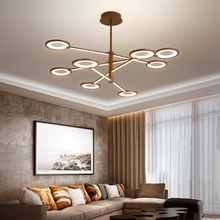 цены Omicron Creative Modern LED Pendant Lights Brown Suspension Lamparas For Study Living Room Restaurant Cafe Decoration Lamp