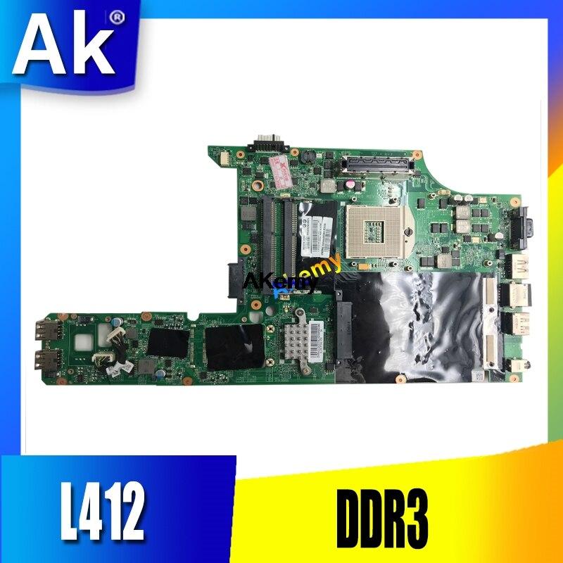 AKEMY 75Y4002 для For Lenovo L412 материнская плата для ноутбука DA0GC9MB8D0 DDR3 полностью протестированная Работа идеально