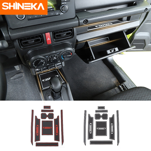 Shineka 9pcs Interior Mouldings for Suzuki JIMNY 2019+ Door Slot Modified Water Coaster Car Interior Accessories for Jimny 2019