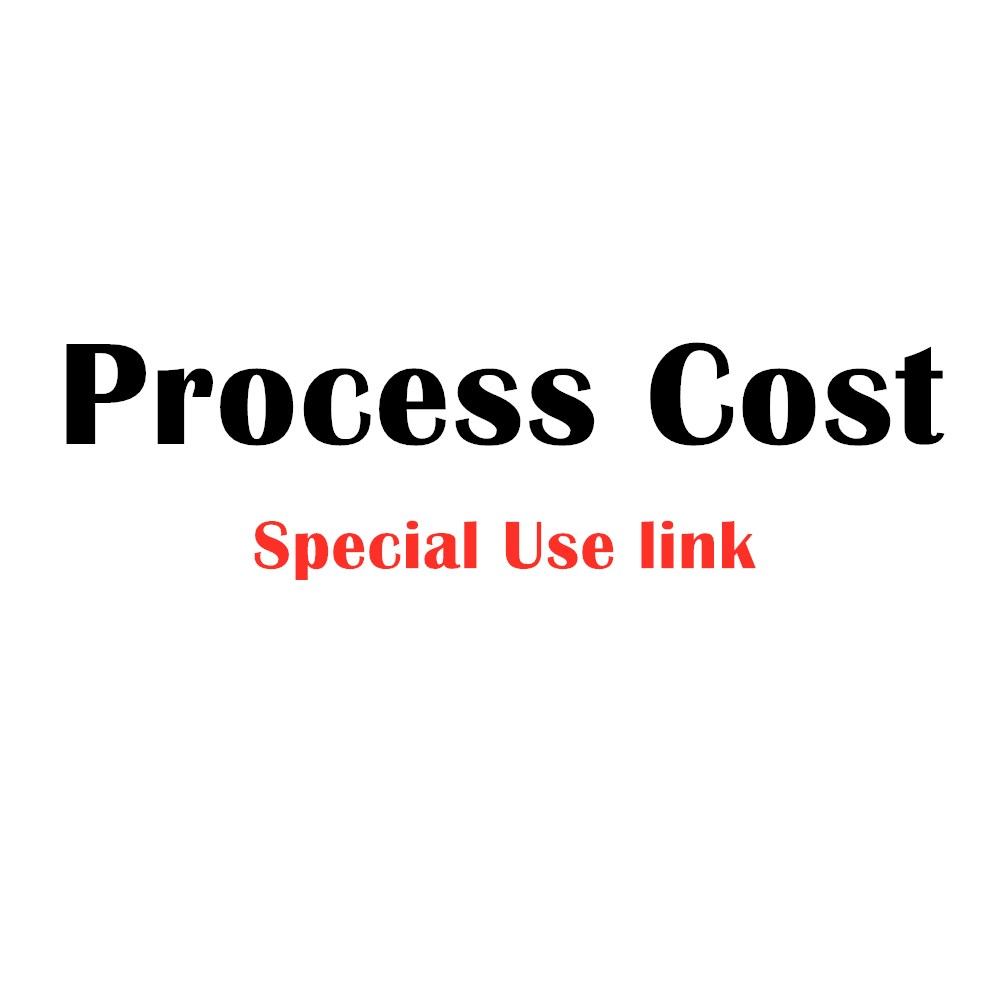 Reissue, Make up the difference, Freight fee, Postage,Process cost——Special use link