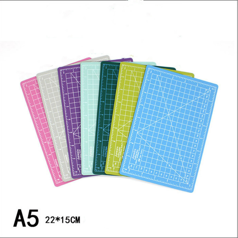 Self Healing Cutting Mat A5 3mm Double Sided Non-Slip Gridded Rotary Board For Art Craft Sew Quilt Scrapbook PVC Dropship