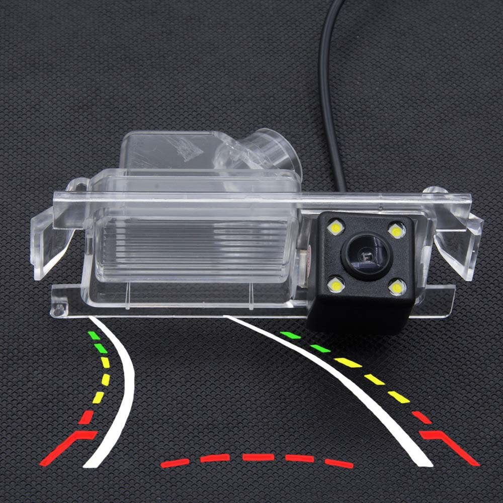 Dynamic Trajectory Tracks Parking Rear View Camera For Kia K2 Rio Sedan Hatchback Ceed 2013 Hyundai Accent Solaris Verna 2014