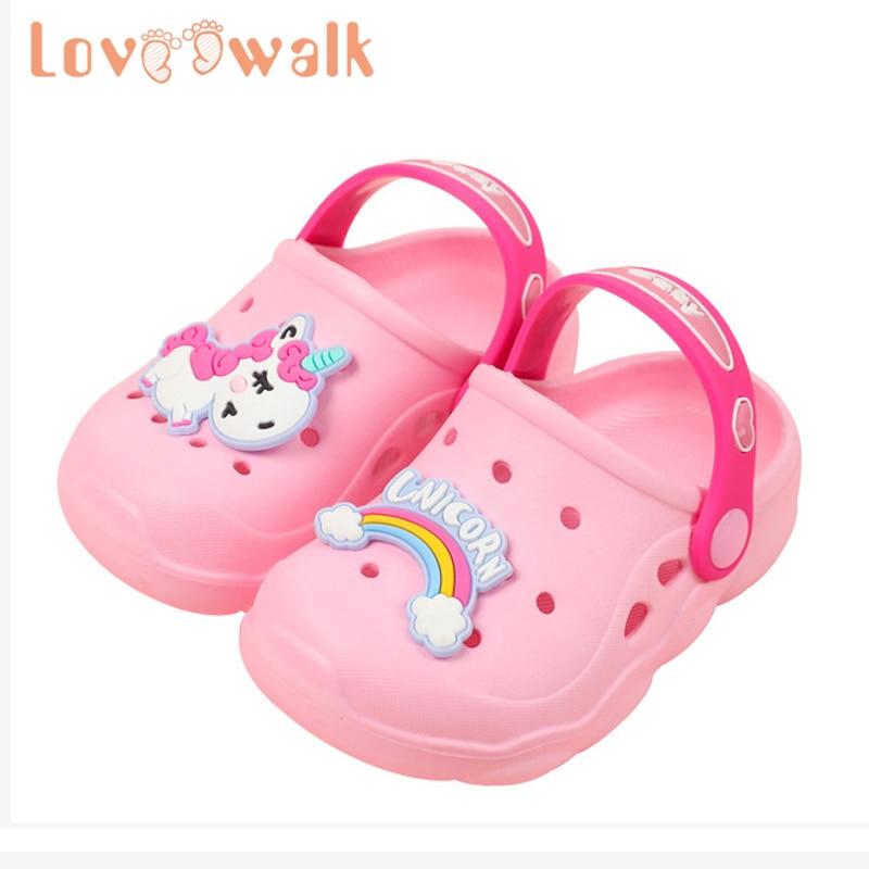 Kids Baby Girls Boys Shark Beach Shower Bath Home Slippers Sandals Shoes Cartoon