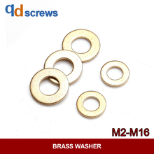M2M2.5M3M4M5M6M8-M16 Brass washer gasket Environmental protection copper