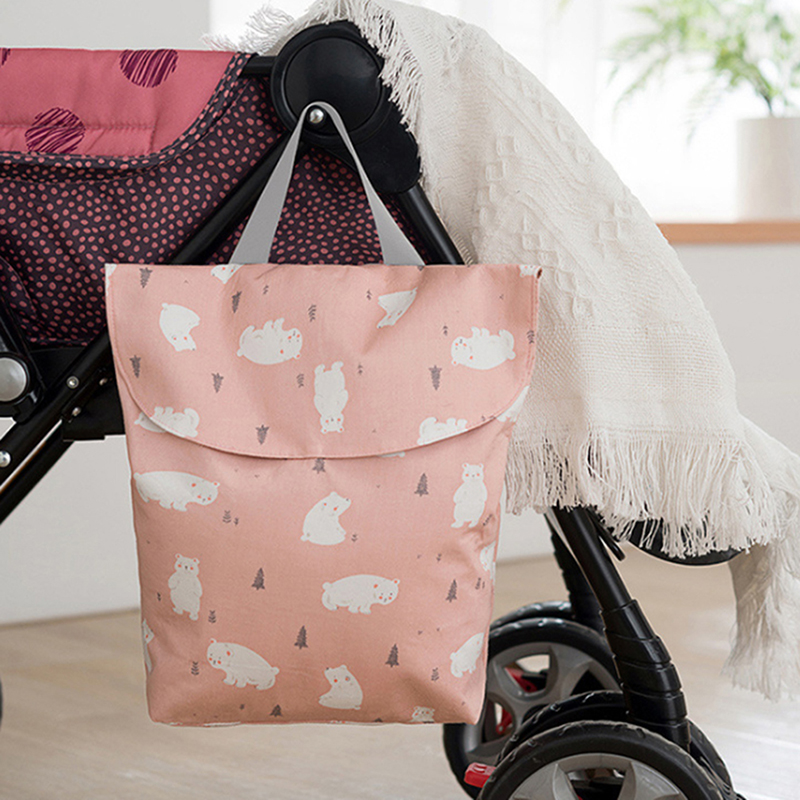 Bolso grande para pañales para bebés, bolso para madre lactante de poliéster de gran capacidad, bolso para pañales, mochila portátil útil