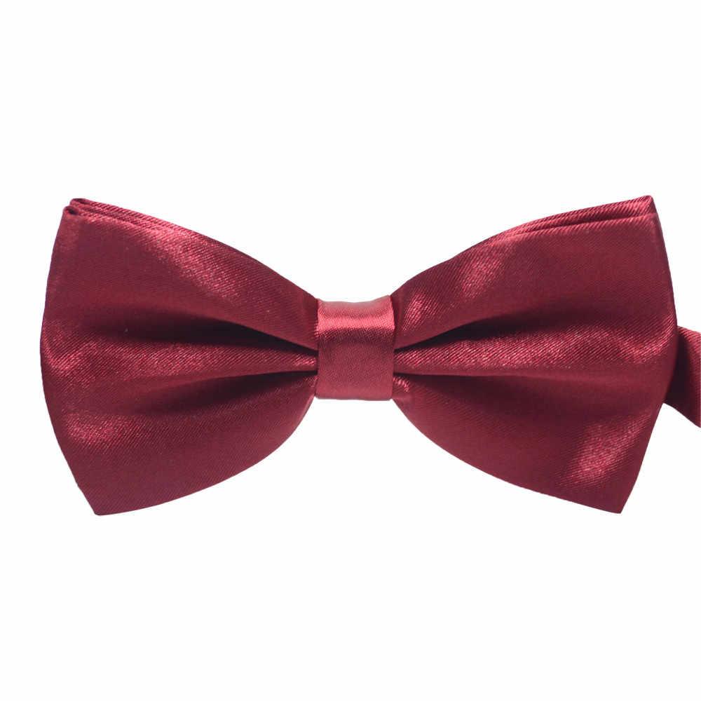 JAYCOSIN Cravatta Degli Uomini di Legame di Arco di Modo dei bambini Delle Ragazze Dei Ragazzi dei bambini Delle Donne di Raso di Seta Coreano Regolabile in Lunghezza da sposa del partito di ballo casuale