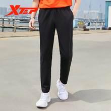 Мужские весенние спортивные тканые брюки xtep легкие прямые