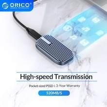 ORICO CN210 Mini Tragbare SSD 480GB 240GB Typ-C 520 MT/S Externe Solid State Drive M.2 SATA NGFF USB C Externe SSD Festplatten