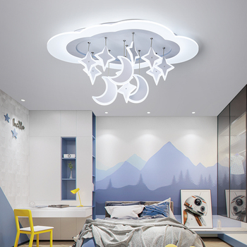 Children's lamp boy bedroom lamp simple modern girl room personality creative rudder led cartoon ceiling lamp цена 2017