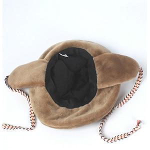 Image 5 - Winter Faxu Lambswool Bucket Hat for Women Ribbon Thick Warm Female Girls Bob Outdoor Sunscreen Panama Lady Ear Protection Cap