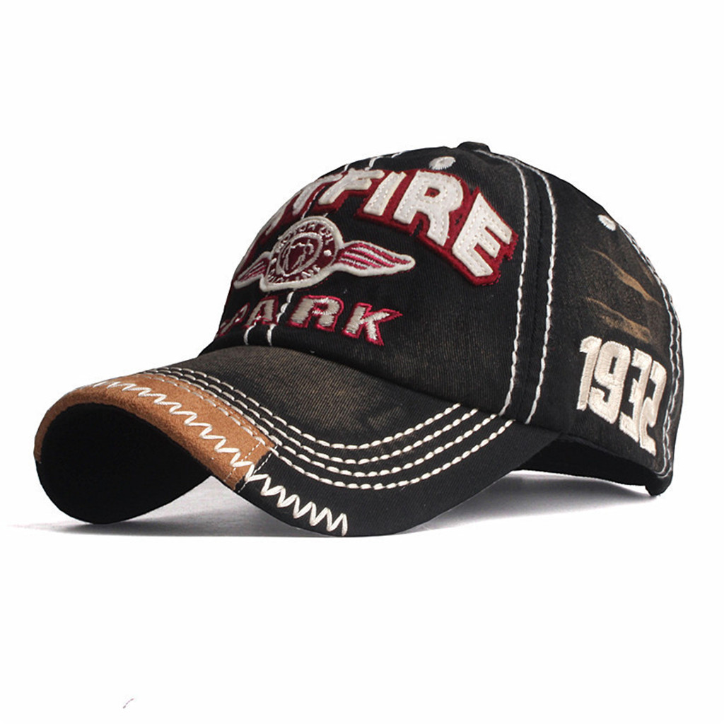 Women Men SPITFIRE Embroidered Alphabet Baseball Cap Summer  Tide Wild Casual Embroidered Peaked Cap Decorative Hat