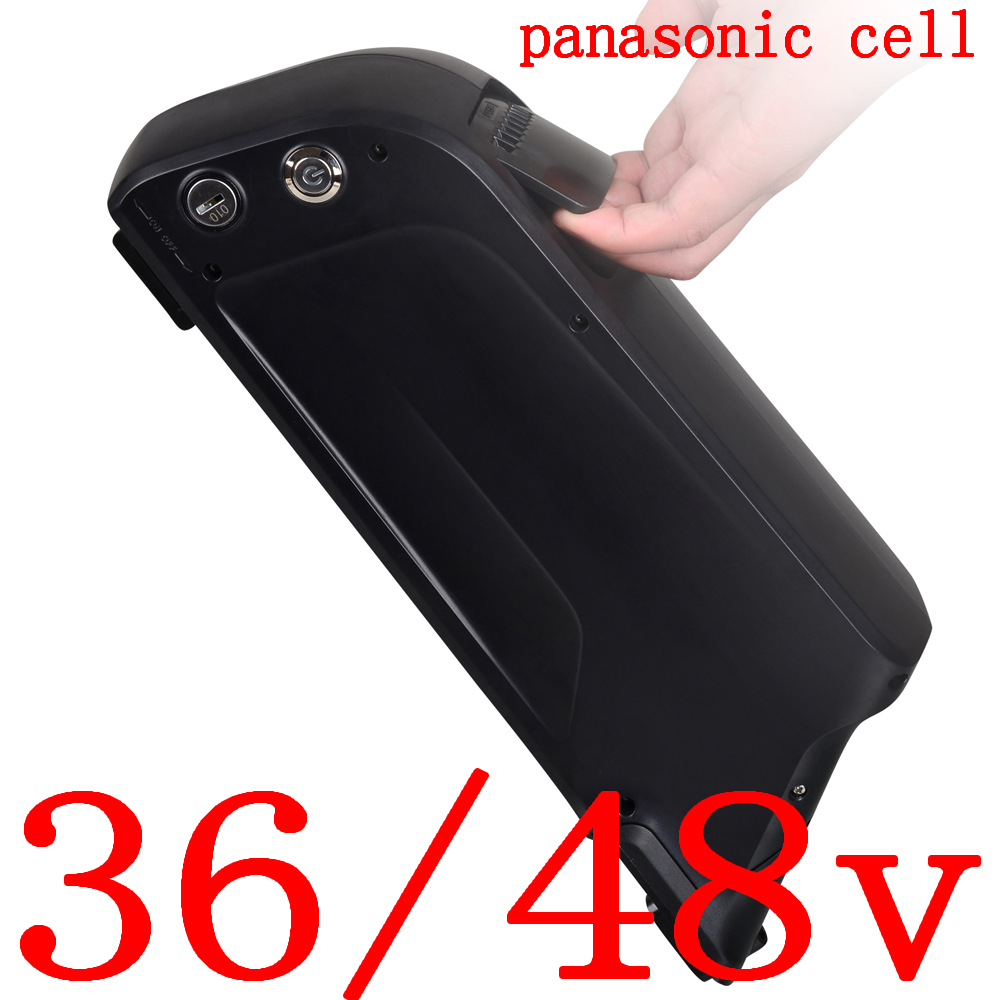 36V 48V 500W 750W 1000W lithium battery pack 36V 48V 8AH9AH 11.6AH 12AH 14.5AH 15AH electric bicycle battery use panasonic cell|Electric Bicycle Battery|Sports & Entertainment - title=