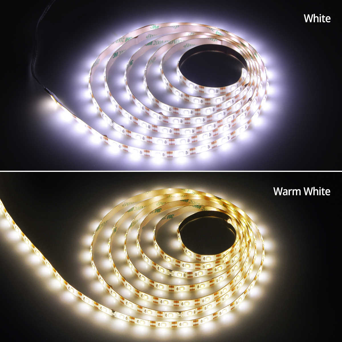 Ручной развертки сенсор светодиодный светильник полосы света USB 5 в умный сенсорный переключатель лампа для ТВ ПОДСВЕТКА шкафа украшения дома светодиоды освещение трубки
