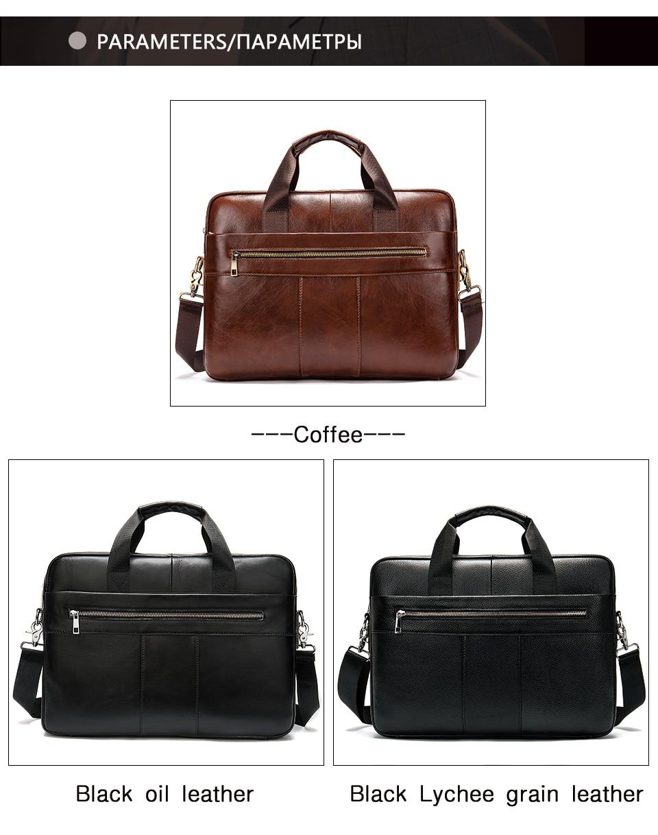 Had091dedf8e6468682b36d47ddd56e11g WESTAL Men's Briefcase Men's Bag Genuine Leather Laptop Bag Leather Computer/Office Bags for Men Document Briefcases Totes Bags