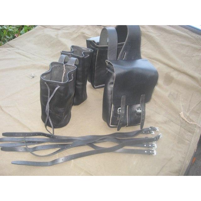 Вьюк (дорожные сумки) для седла верхового казачьего типа (казачьего седла)