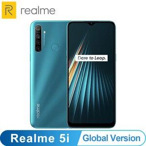 Image 1 - הגלובלי גרסה OPPO Realme 5i 4GB 64GB Snapdragon 665 AIE 12MP Quad מצלמה 6.5 Smartphone 1600x720 5000mAh 4G נייד טלפון