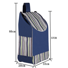 Shopping bags for Trolley cart shopping cart Woman shopping basket Trailer Portable cart Large shopping bags Foldable handbag cheap 6 wire KİTCHEN Storage Bags Eco-Friendly Folding Oxford Bag Compression Type Three-dimensional Type Rectangular shoppingbag