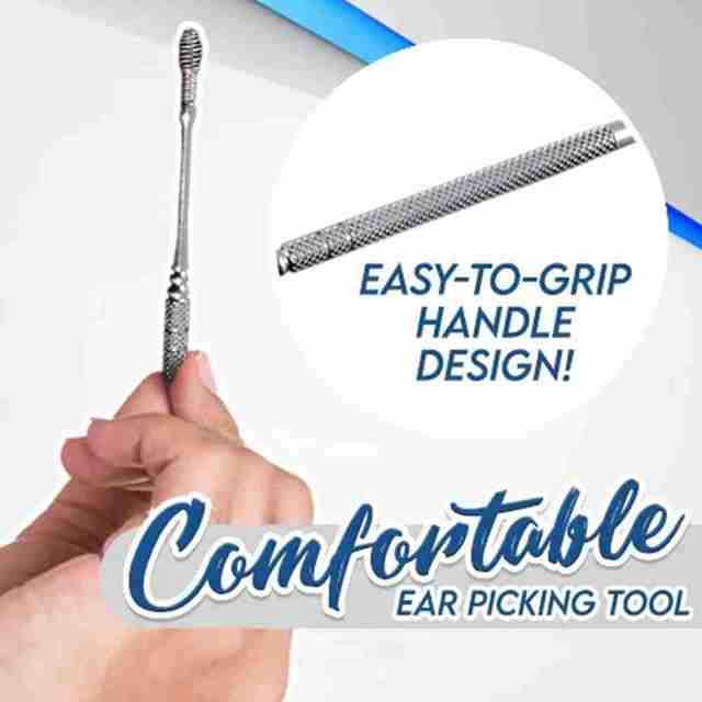 1pc Ear Wax Remove Kit Ear Pick Cleaning Tools  Ear Pick Curette Wax Cleaner Removal Health Stick Tool 3