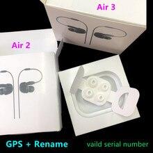 2nd Generatie Air 3 Pro Draadloze Opladen Bluetooth Oortelefoon Slimme Sensor H1 Chip Air2 AP2 AP3 Gen 3 Pods Gps hernoemen Hoofdtelefoon