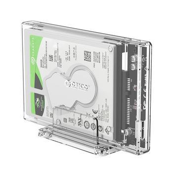 ORICO Transparent HDD Enclosure Case USB 3.0 Micro B to 2.5 SATA Hard Disk SSD External Enclosure Box Mini 5Gbps 4TB HDD Case