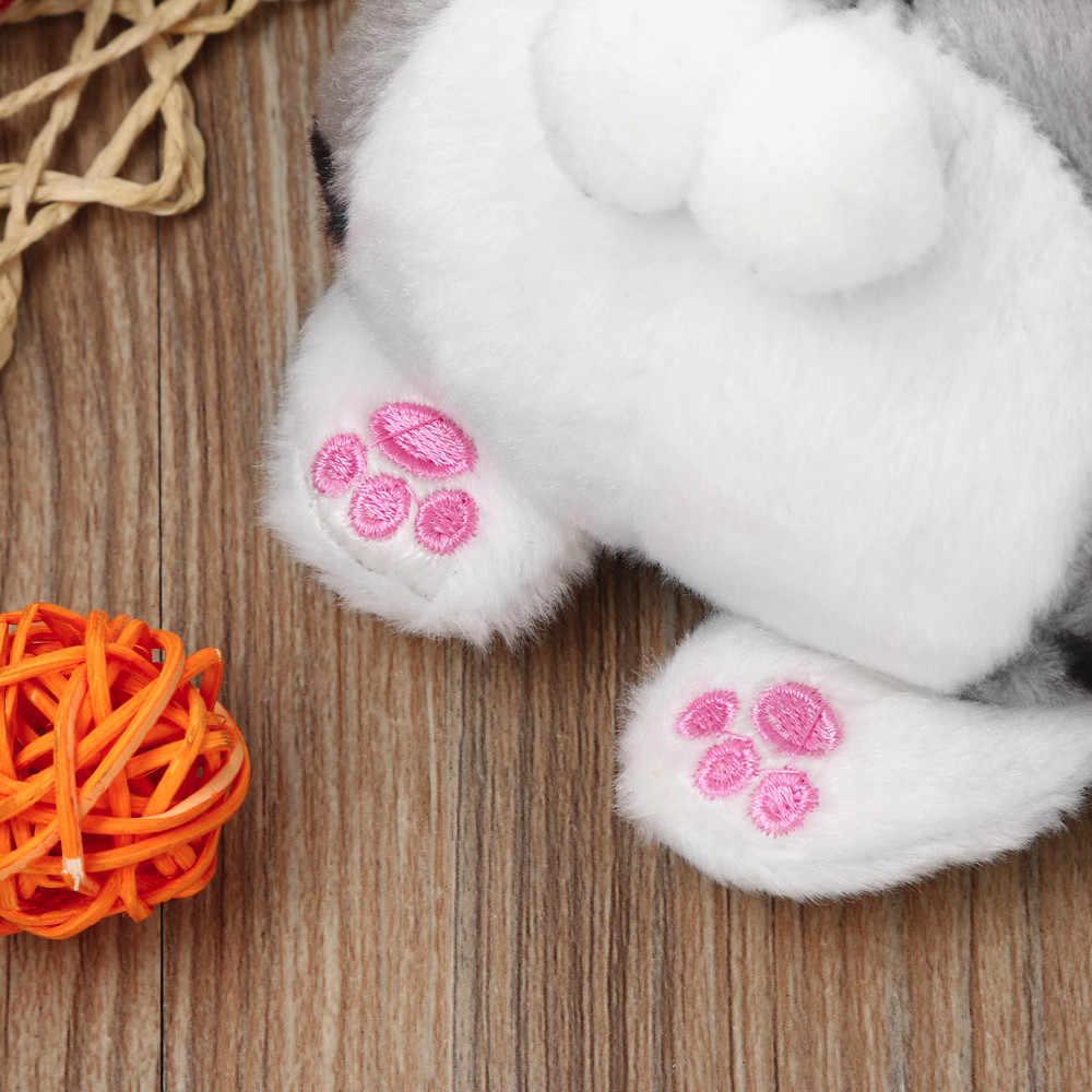 Милый плюшевый Кошелек для монет с кошачьим хвостом, детская Милая Мини сумка-мессенджер, вечерние подарочные сумки для девочек на день рождения, сумка для монет, сумка для ключей, porte monnaie femme