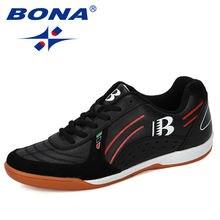 Мужские кожаные кроссовки bona дизайнерская обувь для тренировок