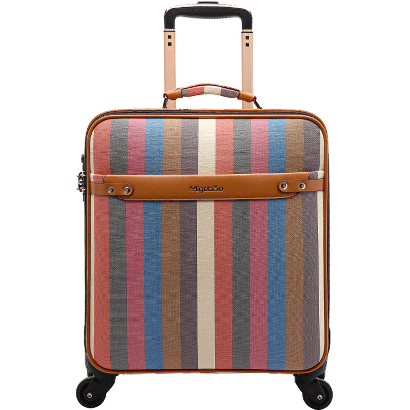 Wholesale Customizable Business Travel Trolley Casual Luggage Universal Wheel 16-Inch Boarding Bag Travel Leather Suitcase a Gen