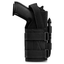 Tactical Molle Gun Holster Belt Pistol Holster for Universal Handgun Beretta Revolver Glock 1911 17 92 96 Airsoft Shotgun Pouch