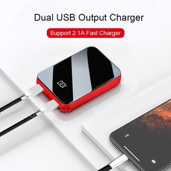 5000mAh Mini Power Bank Portable Phone Charger Powerbank smart Phone Charger External battery Poverbank For Smart Phone image