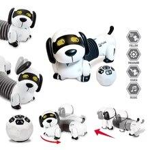 C5AF Remote Control Dachshund Dog RC Robotic Stunt Puppy Toys Pet Following Robot