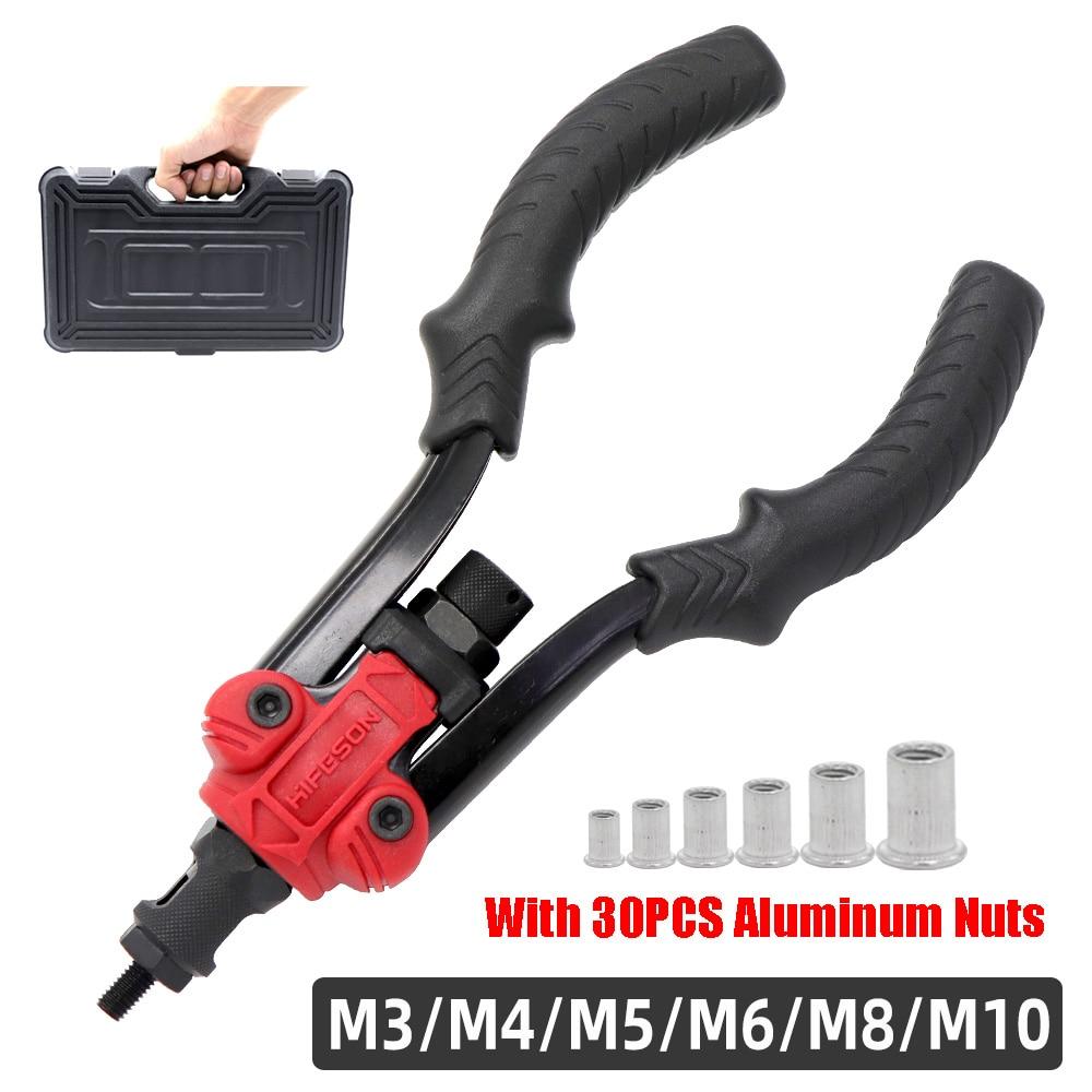 Pistola per utensili per rivettatura a mano automatica da 12 BT-606 M3 M4 M5 M6 M8