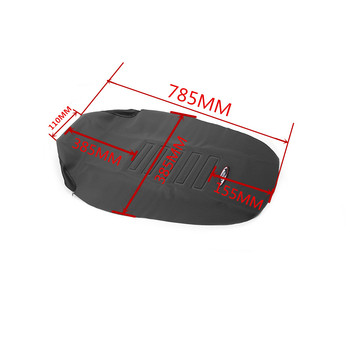 Motorcycle Gripper Soft Seat Cover Non-slip Diamond Pattern Stretchy Waterproof For 125-450 SX SXF EXC EXCF XC-W HONDA CRF250R