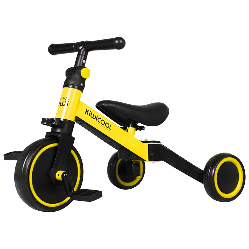 3 in 1 Kids Tricycle + Balance bike + Baby walker Child Push Bike Toddler Learn to Ride Bicycle Ride On Toy Boy Girl Xmas Gift 2