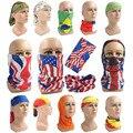 Волшебный шарф с национальным флагом, мужская повязка на голову для спорта на открытом воздухе, шея, бандана, сетка для лица, бандана для бег...