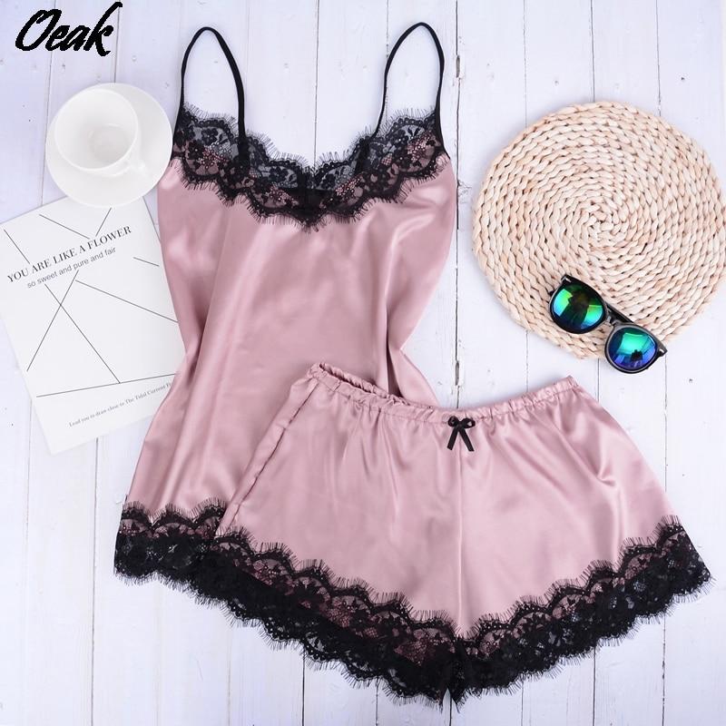 separate-2pcs-lace-sleepwear-women-beach-dress-lingerie-night-short-sleeveless-ladies-satin-nightgown-through-la-sleepwear