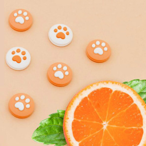 Image 5 - New Cute Cat Paw Claw Thumb Stick Grip Cap Joystick Cover For Nintend Switch Lite NS Joy Con Controller Gamepad Thumbstick Case