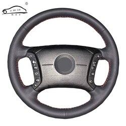 Trenza de volante para BMW, protector de dirección personalizado para BMW E46 318i 325i E39 E53 X5